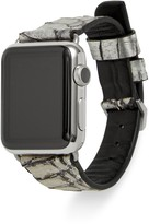 Rebecca Minkoff Snake Embossed Leather Apple Watch Band