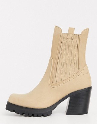 Jeffrey Campbell Elkins calf boot in brown