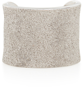 Carolina Bucci White Florentine Cuff Ring