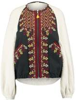 Free People TWO FACED Summer jacket ivory