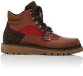 Moncler Men's Lug-Sole Hiking Boots-BROWN
