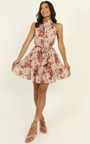 Showpo Arlo Dress in pink floral - 6 (XS) The Floral Edit