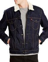 Levi's Sherpa Collar Denim Jacket