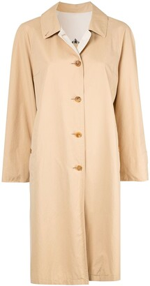 Burberry Pre-Owned Long Sleeve Coat