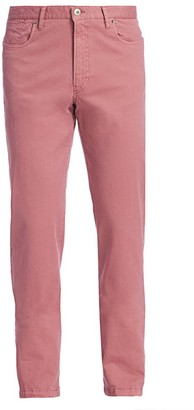 Saks Fifth Avenue COLLECTION Stretch Cotton Pants
