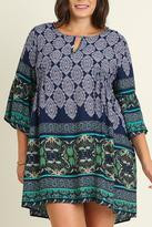Umgee USA Butterfly Plus Sleeve Tunic