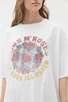 Urban Outfitters Guns N Roses Use Your Illusion T-Shirt Dress