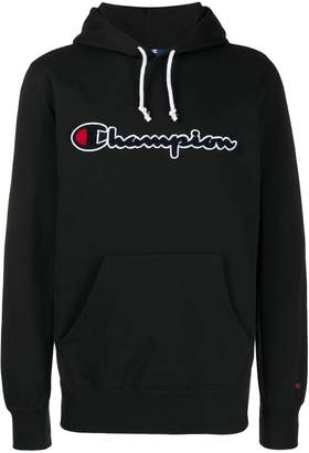 Champion textured logo hoodie