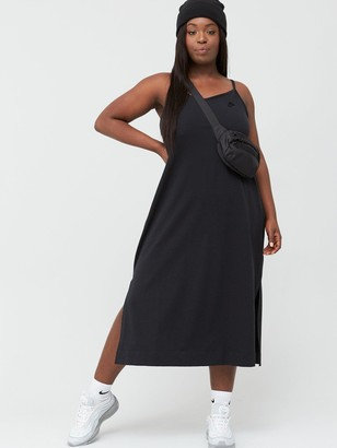 Nike NSW Jersey Dress (Curve) - Black