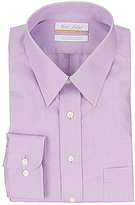 Roundtree & Yorke Gold Label Big & Tall Non-Iron Regular Full-Fit Point-Collar Solid Dress Shirt