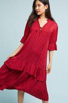 Lacausa Jacquard Ruffled Dress