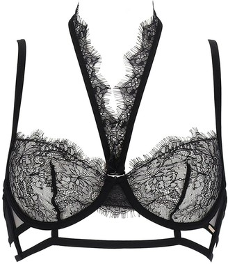 Bluebella Francine Lace Bra W/ Detachable Collar