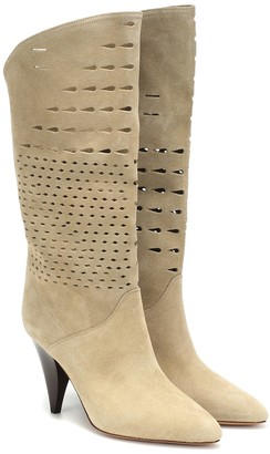 Isabel Marant Lurrey suede boots