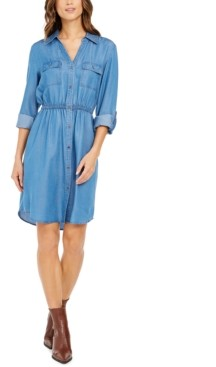 Style&Co. Style & Co Woven Utility Dress, Created for Macy's
