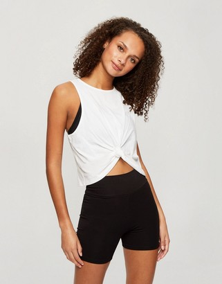 Miss Selfridge shorts in black