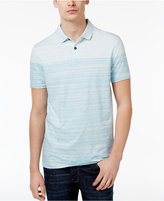 HUGO BOSS Orange Men's Painter Striped Cotton Polo