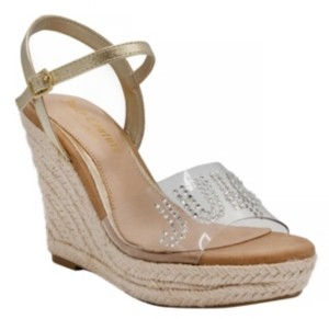 Juicy Couture Cristall Platform Wedges Women's Shoes