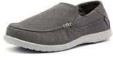 Crocs Men's Santa Cruz 2 Luxe Charcoal/Light Grey
