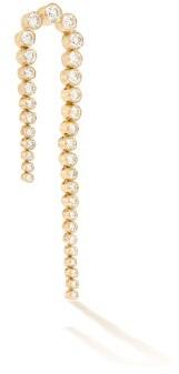 Sophie Bille Brahe Sandro Nuit Diamond & 18kt Gold Single Earring - Diamond