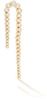 Sophie Bille Brahe Sandro Nuit Diamond & 18kt Gold Single Earring - Womens - Diamond