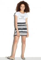 Milly Minis Sequin Fringe Mini Skirt