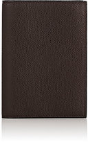 Valextra Women's Passport Case-BROWN, DARK BROWN