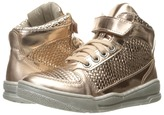 Stella McCartney Darby Metallic Lace-Up Hi-Top Sneakers Girls Shoes