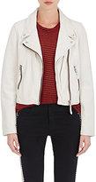 Etoile Isabel Marant Women's Aken Leather Moto Jacket-NUDE
