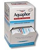 Eucerin Aquaphor Healing Ointment,contains 144 packets,NET WT 0.03 OZ.(0.9g)Each