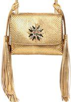 Roberto Cavalli Small Swarovski Sun Python Shoulder Bag