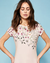 Ted Baker Unity Floral fitted Tshirt
