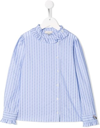 Gucci Kids Striped Shirt