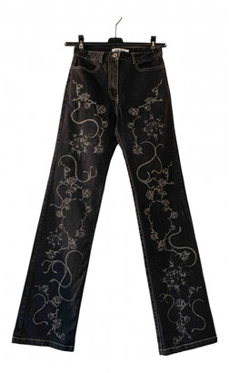 I.AM.GIA Black Cotton Trousers