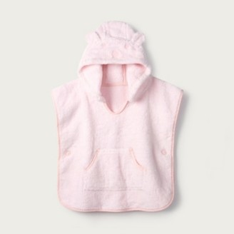 The White Company Pink Towelling Cover-Up, Pink, 0-6mths