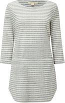 White Stuff Shashiko Stripe Jersey Tunic