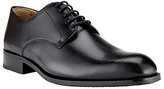 John Lewis Harrison Leather Lace-up Derby Shoes, Black