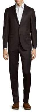 Canali Pinstripe Wool Jacket & Pants Suit