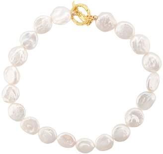 Lizzie Fortunato Goa pearl collar necklace