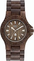 WeWood WDDAMASCUSNUT Date Damascus Brown Bracelet Band Wood Dial Watch