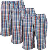 Godsen Men's 1/2/3 Pack Cotton Lounge Sleep Shorts /Pajama Pants (XL, )
