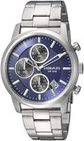 Head Men's 'Match Point' Quartz Stainless Steel Casual Watch, Color:-Toned (Model: HE-004-03)