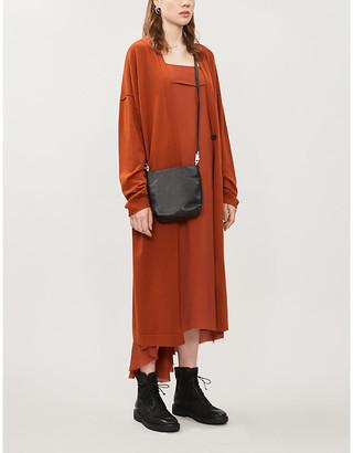 Isabel Benenato Longline knitted cardigan