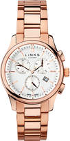 Links of London 6020.1160 Regent Chronograph rose gold plated stainless steel watch