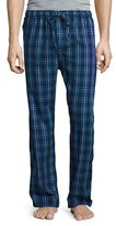 Derek Rose Plaid Flannel Pajama Pants, Navy