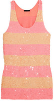 J.Crew Collection Sequined Cotton Tunic - Pink