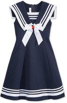 Bonnie Jean Fit & Flare Sailor Dress, Toddler & Little Girls (2T-6X)