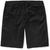 Paul Smith Brushed Stretch-Cotton Twill Shorts