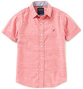 Nautica Big Boys 8-20 Short-Sleeve Woven Shirt