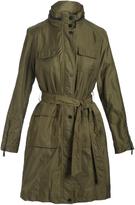 T Tahari Olive Giselle Raincoat