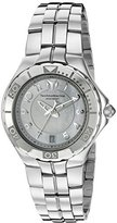 Technomarine Women's 'Sea Pearl' Swiss Quartz Stainless Steel Casual Watch, Color:Silver-Toned (Model: TM-715012) by